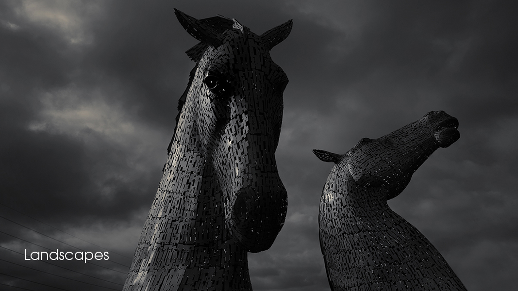 D46A6705 Andy Scott The Kelpies Falkirk Wheel Scotland by photographer Andrew Ogilvy Photography v3