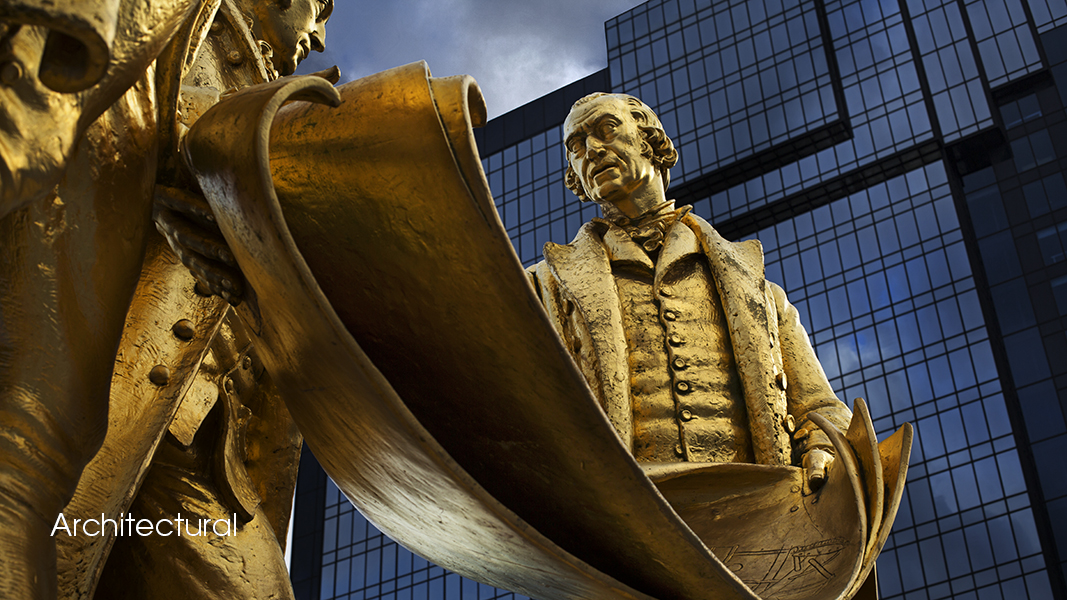 D46A4168 16 9 Birmingham City Centre Founding Fathers Matthew Boulton James Watt William Murdoch Hilton Andrew Ogilvy Photography